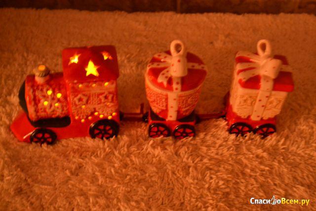 Конфетница с крышками со светодиодной подсветкой Smakfest #044033 фото