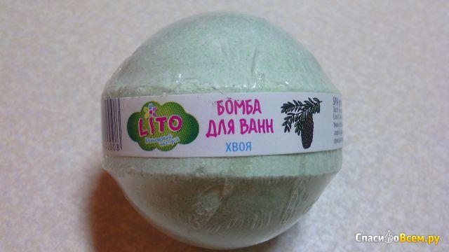 """Бомба для ванн """"Lito"""" Хвоя фото"""
