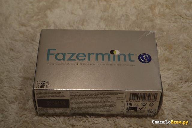 Шоколадные конфеты Fazer Fazermint Chocolate Cream с мятной начинкой
