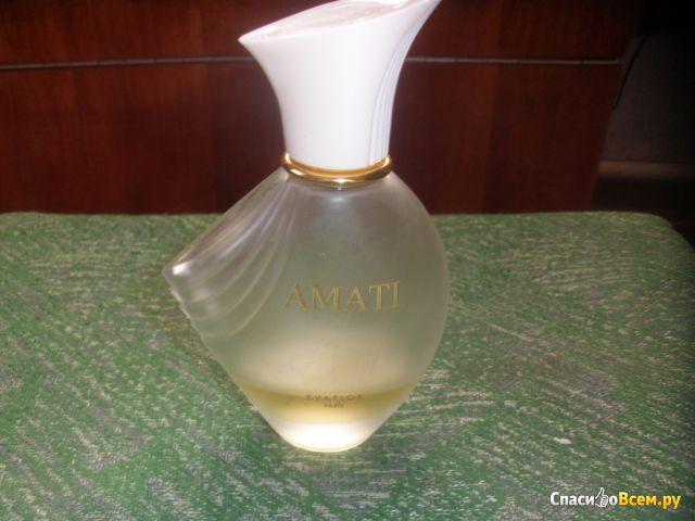 Парфюмированная вода Evaflor Amati