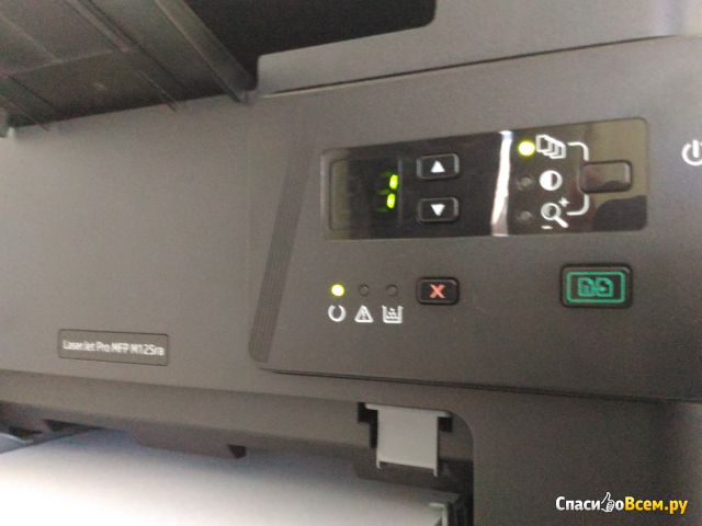 МФУ HP LaserJet Pro MFP M125rnw фото