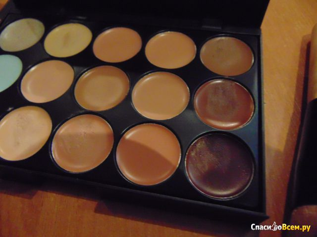 Консилер Oem 15 Color Concealer Camouflage Makeup Palette Set