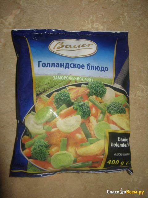 """Овощная смесь для жарки Bauer """"Голландское блюдо"""" замороженное фото"""