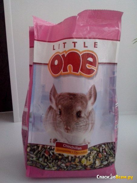 Сухой корм для шиншилл LittleOne фото