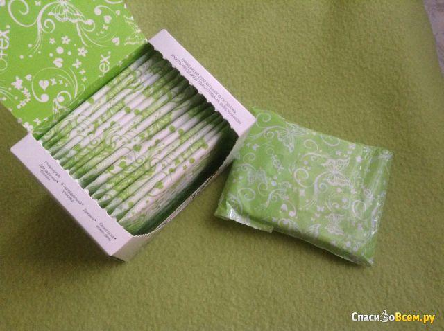 Ежедневные прокладки Kotex Lux SuperSlimDeo с ароматом алоэ вера фото