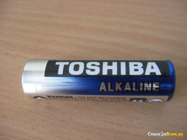 Батарейки Toshiba Alkaline LR6/Size AA /1.5V/LR6GCNN фото
