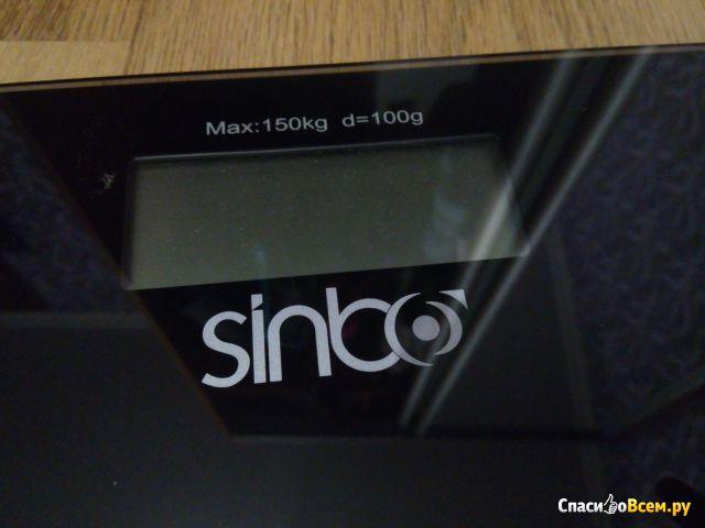 Электронные напольные весы Sinbo SBS-4418 фото