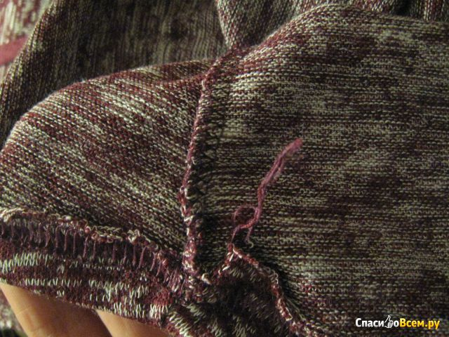 Пуловер женский трикотажный Amrzs арт. A27050
