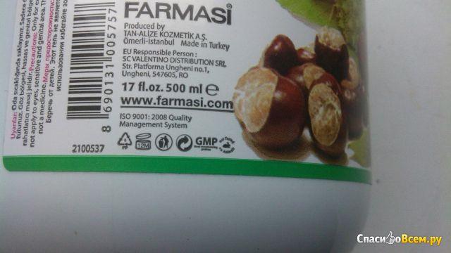 Массажный гель с экстрактом каштана Farmasi Dr.C.Tuna Pferde Balsam