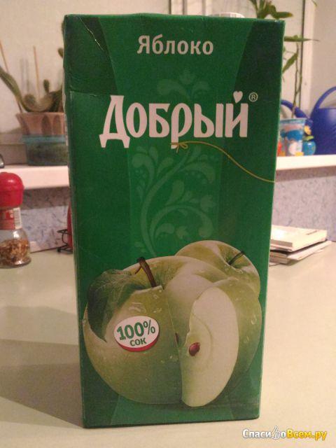 """Сок """"Добрый"""" Яблоко фото"""