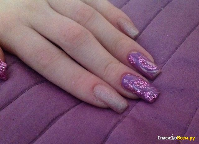 "Блёстки для ногтей ""Вау!"" арт. Б014"