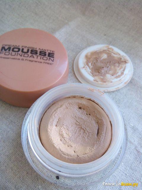 Матирующая основа под макияж Isabelle Dupont Dream finish matte mousse foundation фото