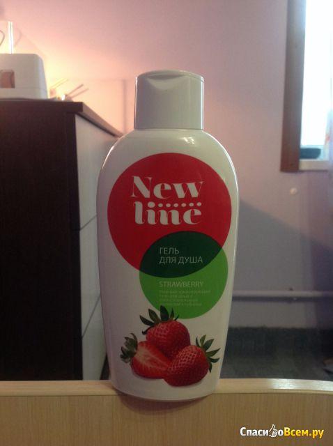 "Гель для душа ""New line"" Strawberry"