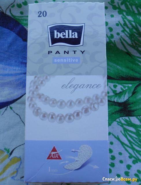 Ежедневные гигиенические прокладки Bella Panty Sensitive Elegance