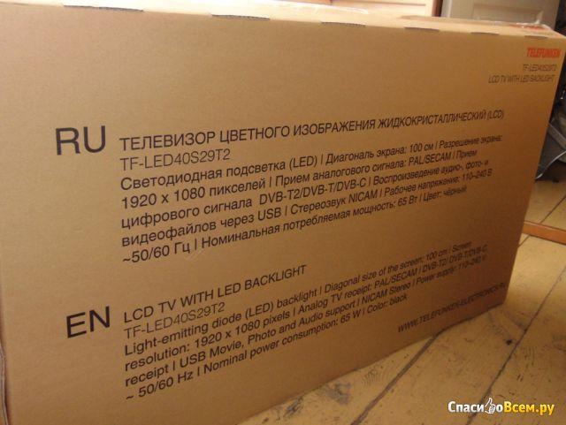 ЖК телевизор Telefunken TF-LED40S10T2