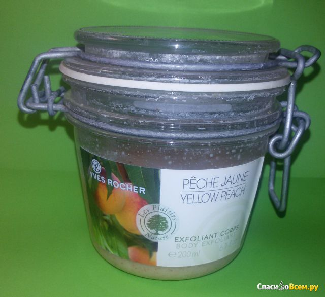 """Эксфолиант для тела Yves Rocher """"Сочный персик"""""""