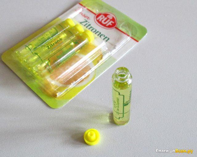 Лимонный ароматизатор Ruf Unser Zitroven Aroma