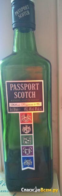Купажированный шотландский виски Passport Scotch фото