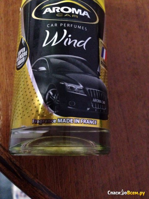Ароматизатор воздуха Aroma Car pump spray Wind фото
