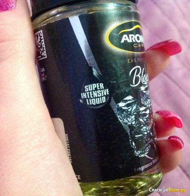 Ароматизатор воздуха Aroma Car pump spray Black фото