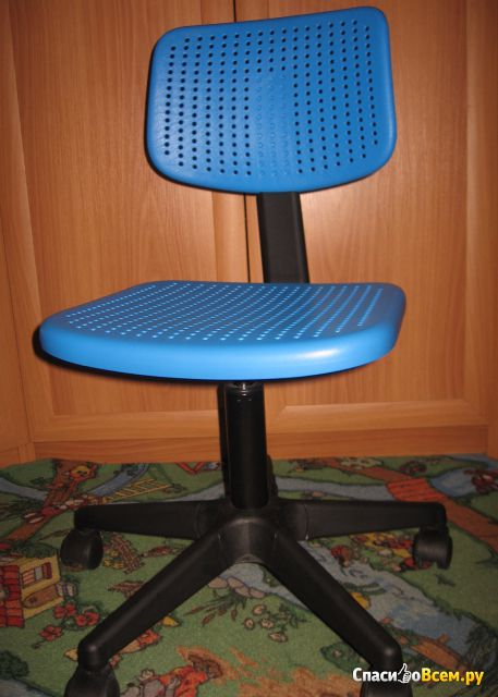 Рабочий стул АЛЬРИК IKEA фото