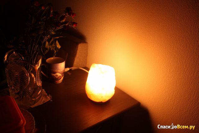 Солевая лампа Wonder Life Скала ЭКО