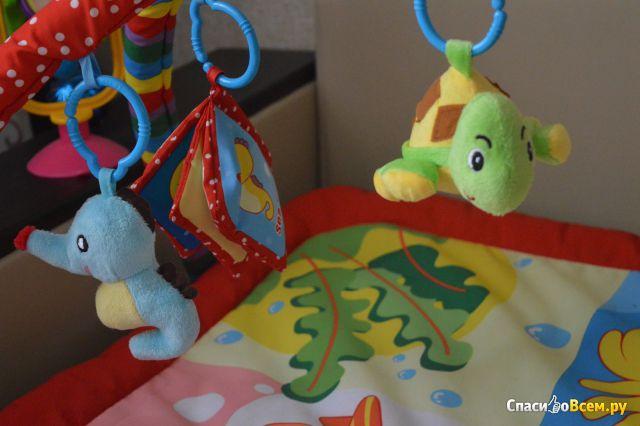 "Развивающий коврик La-Di-Da ""Вечеринка морских животных"" арт.РМ006"