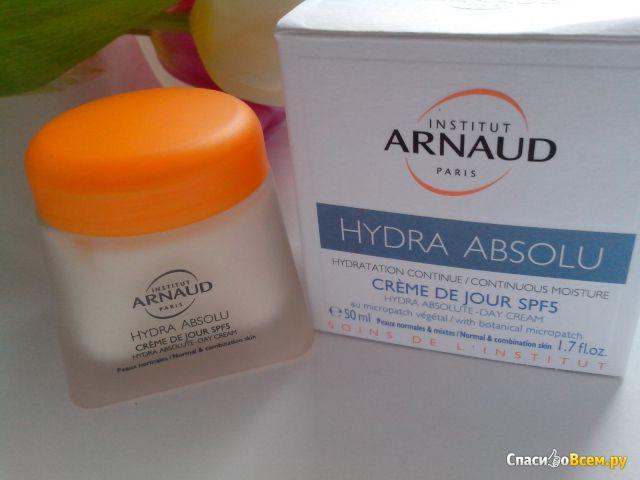 Дневной крем для лица Institut Arnaud Paris Hydra Absolu SPF5 для нормальной и смешанной кожи