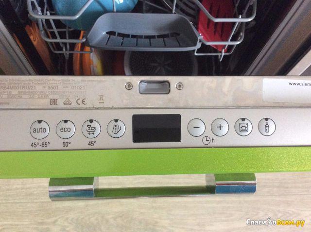 Встраиваемая посудомоечная машина Siemens SR64M001RU фото