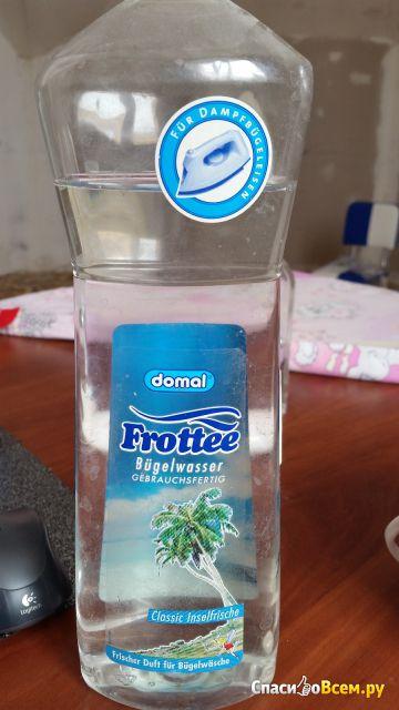 Парфюмированная вода для утюгов с отпаривателем Domal Frottee Bugelwasser