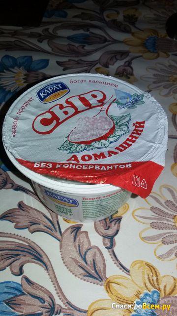 """Творог зерненый Карат  """"Сыр домашний"""""""
