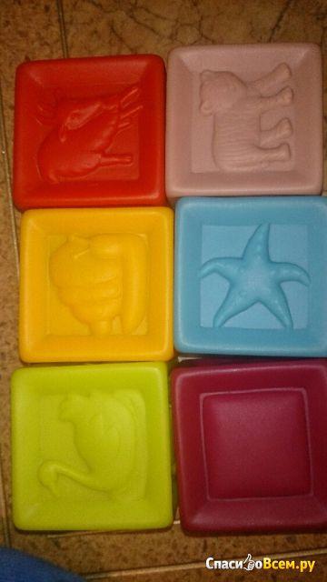 Игрушка для купания Кубики Babymoov арт. A104925 фото