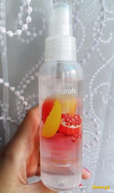 Освежающий спрей для тела гранат и манго каталог ейвон дивитися онлайн