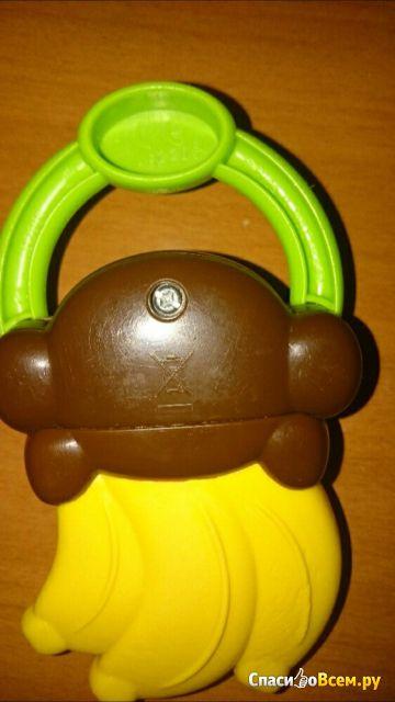 Мягкий прорезыватель для зубок Bright Starts «Бананы» арт. 9312-2