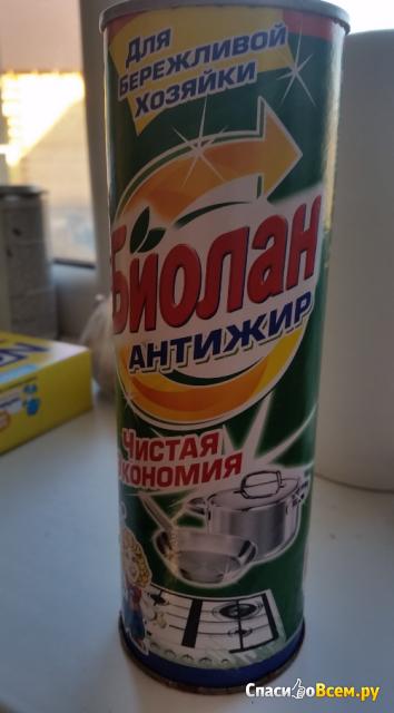 "Средство чистящее ""Биолан"" Антижир фото"