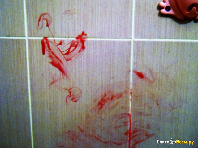 Мыльная краска Baffy для ванны фото