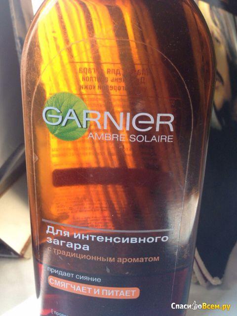 Масло для загара Garnier Ambre Solaire фото