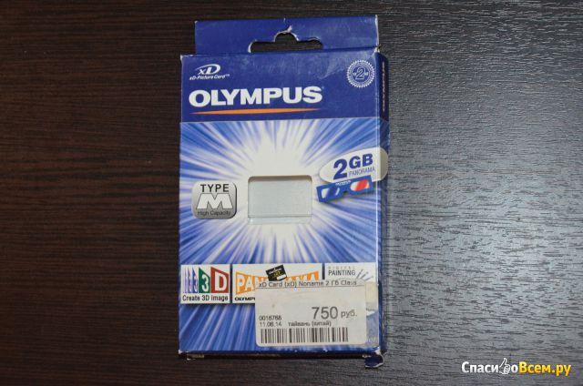 Карта памяти XD-Card Olympus фото