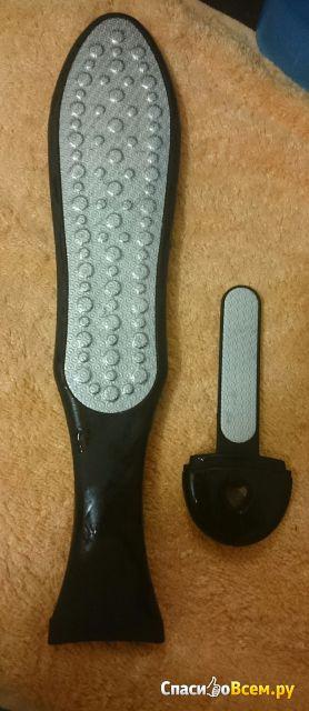 """Лазерная терка для ног Solingen Solinberg GD-5800 двусторонняя с лазерными насечками """"Лыжа"""""""