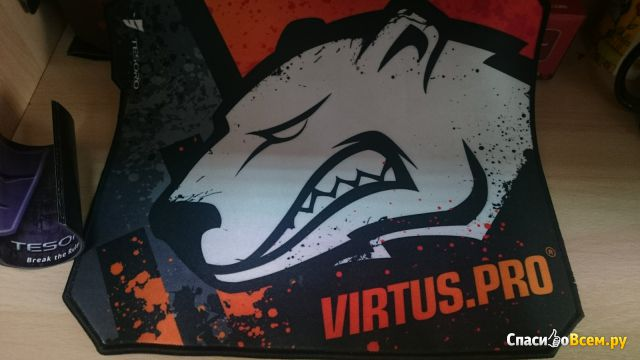 Игровой коврик Tesoro Aegis X3 Virtus.pro фото