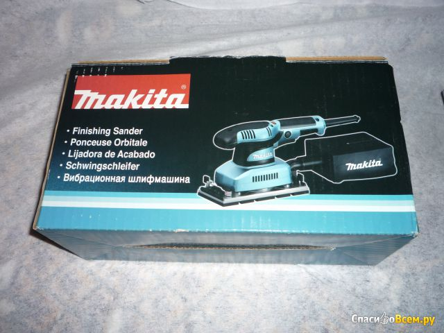 Вибрационная шлифовальная машина Makita BO3711 фото