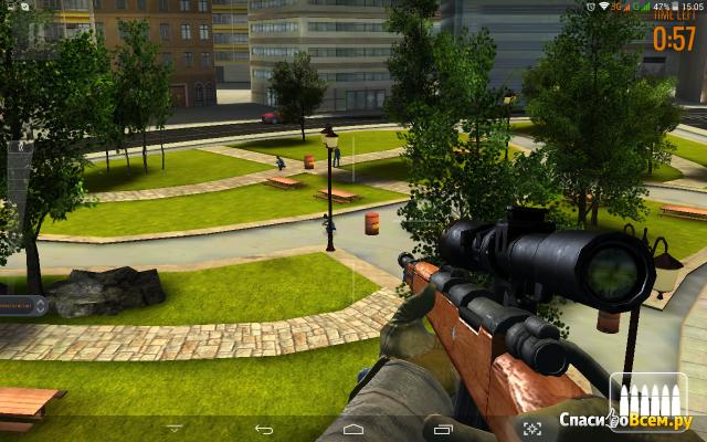 "Игра ""Sniper Assassin shoot to kill"" для Android"