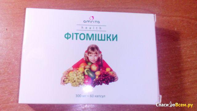 """Витамины для детей """"Фитомишки"""" Amrita"""