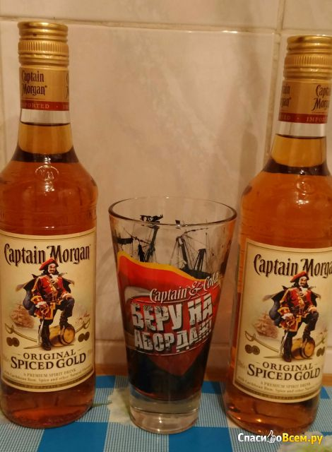 Ром Captain Morgan Spiced Gold фото