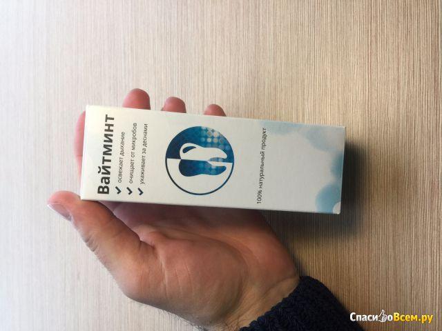 Пенка для отбеливания зубов WhiteMint