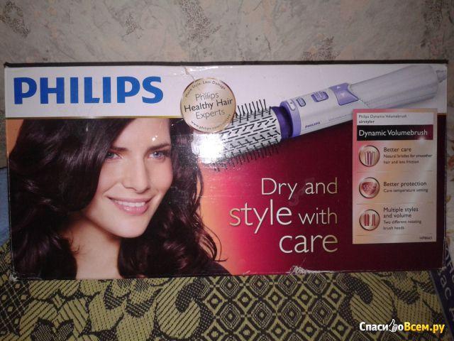 Фен-щетка Philips HP 8665 фото