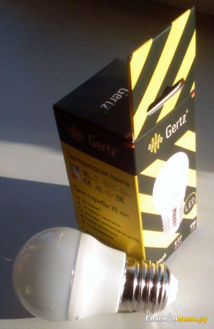 Лампа светодиодная Gertz артикул 005155 5 Вт фото