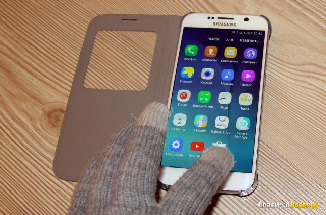 Перчатки сенсорные O'stin Touch Screen LA6P61 фото