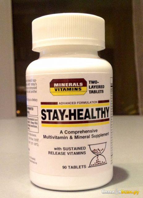 Витаминно-минеральный комплекс General Vitamin Corporation Stay-Healthy фото