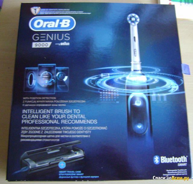 Электрическая зубная щетка Oral-B Genius 9000 фото